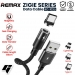 Kab.RMX Zigie data cable RC-102 magnetinis