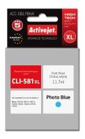 Raš.ACJ ACC-581PBNX Foto mėlyna (Canon CLI-581Pbk)