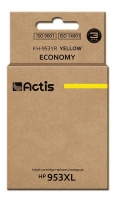 Raš.  ACTIS KH-9531YR (HP 953XL F6U16AE; 25 ml; geltona)