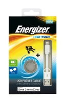 Cable microUSB Energizer Pocket  sync+ch