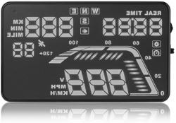 """HUD Powermax Q7  5.5"""" GPS (be OBD)"""