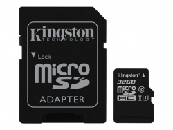 Atm.kort. KINGSTON microsSD 32GB Canvas