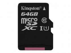 Atm.kort.microSD KINGSTON 64GB microSDXC