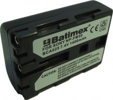 Bat.Batimex BCA025 Sony NP-FM50 1400 mAh