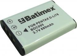 Bat.Batimex BDC095 Pentax D-Li78 680mAh