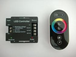 LED kontr. HTL-040 3CH RGB RF-full