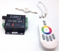 LED kontr. HTL-033 RGB 3CH RF + input