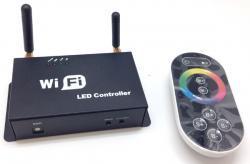 LED nuot. vald. pultas HTL-062 3CH RGB WiFi+RF