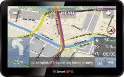 "Navig.SmartGPS SG770 7.0"" 256MB 8GB mSD"