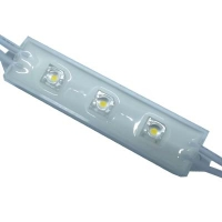 LED modul.MS DP5RWACM002-12 Balta 5mm