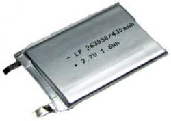 Bat.Batimex LP263050 430mAh 1.6Wh Li-P
