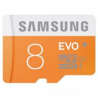 Atm.kort.microSD Samsung EVO 8GB 48MB/s