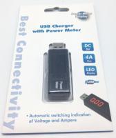 USB testeris PCA021 įtampai ir srovei
