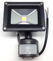 LED lauko šv.su jud.PMX PLDF10S 10W