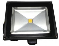 LED lauko šv. su jud.  PMX PLDF50S 50W