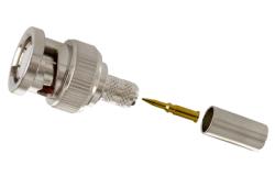 Adapt.P-ISR PR-C13 BNC male užspaudžiama