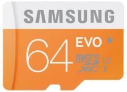 Atm.kort.microSD Samsung EVO 64GB 48MB/s