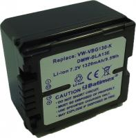 Bat.Batimex BCA128 Panasonic VW-VBG130 9