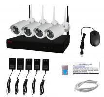 WiFi NVR Kit PMX 4CH+4 vnt. 1080P kamerų
